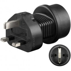 Y - power cord adapter Type G for UK standard